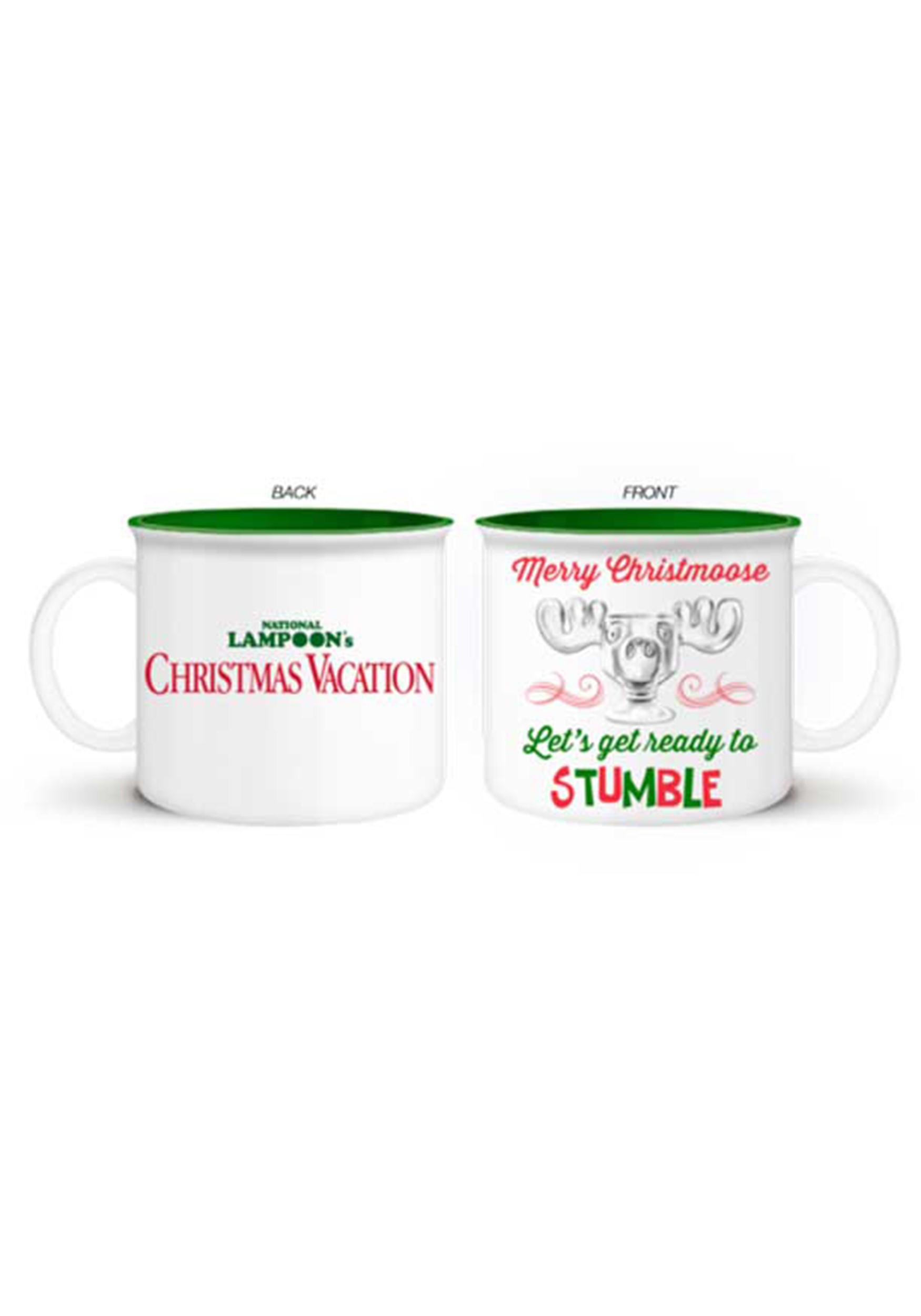 Jumbo Christmas Vacation Christmoose Stumble 20oz Mug