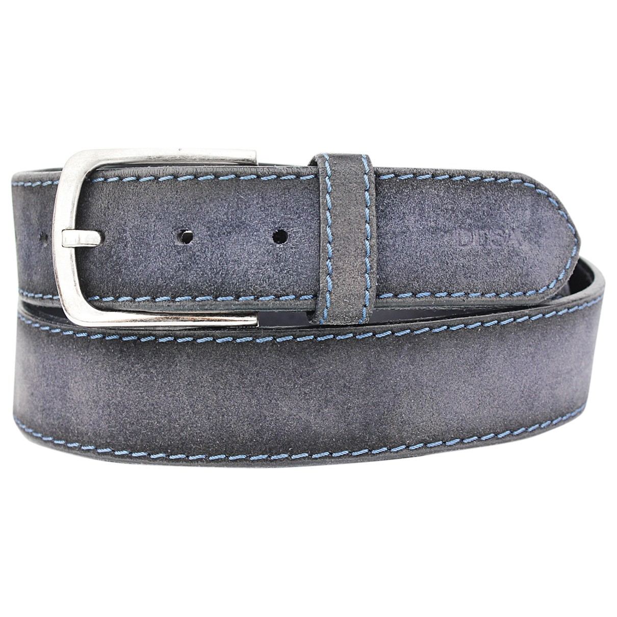 Desa \N Blue Suede belt for Men M international