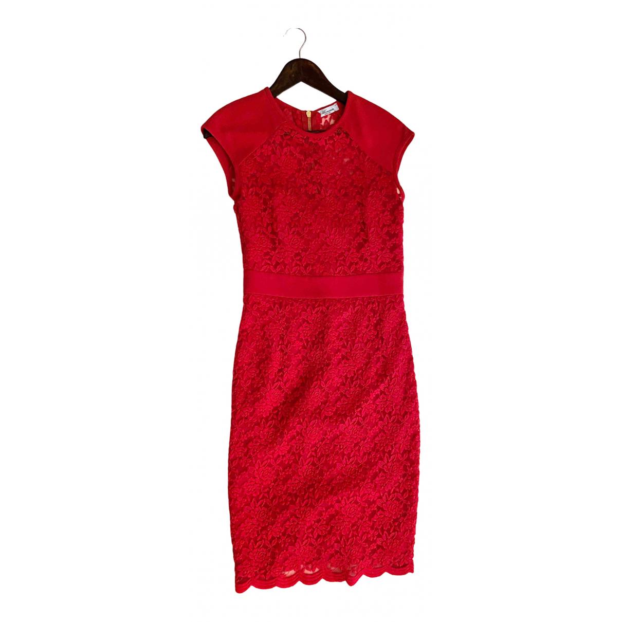 Blumarine \N Kleid in  Rosa Spitze