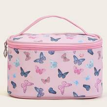 Butterfly Pattern Makeup Bag