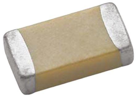 Vishay 0805 (2012M) 1.2nF Multilayer Ceramic Capacitor MLCC 25V dc ±10% SMD VJ0805D122KXXAJ (10)