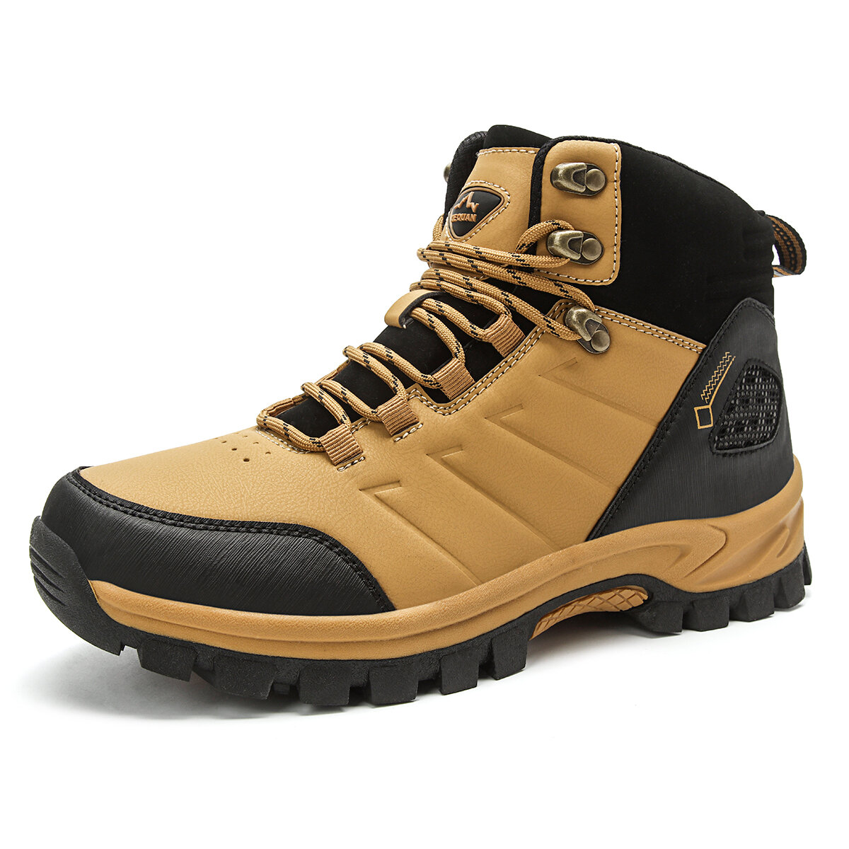 Men Breathable Soft Non Slip Wear Sole Outdoor Sport Hiking Boots