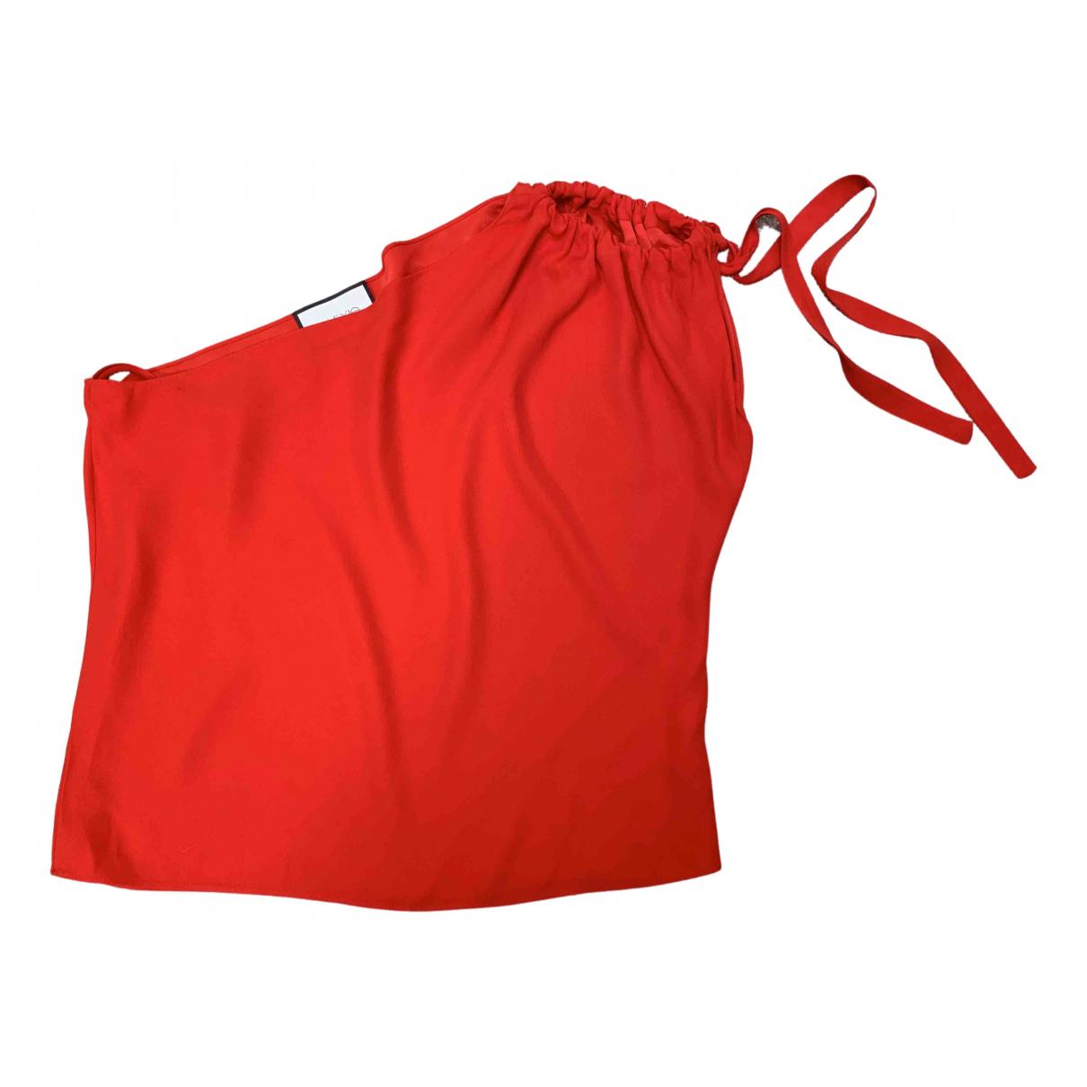 Alexis - Top   pour femme - rouge