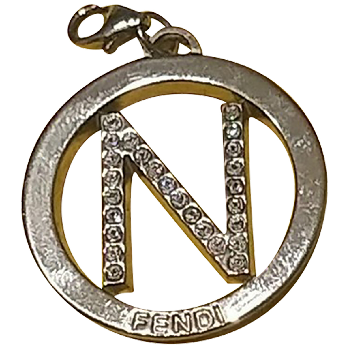 Fendi N Silver Silver pendant for Women N