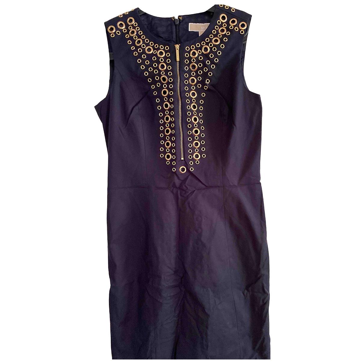 Michael Kors \N Kleid in  Blau Baumwolle