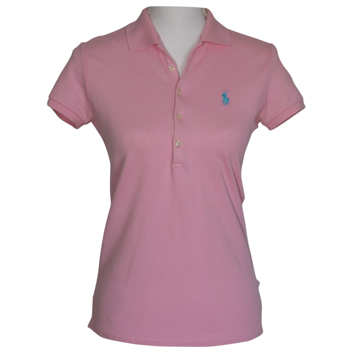 Polo Ralph Lauren \N Pink Cotton  top for Women 36 FR