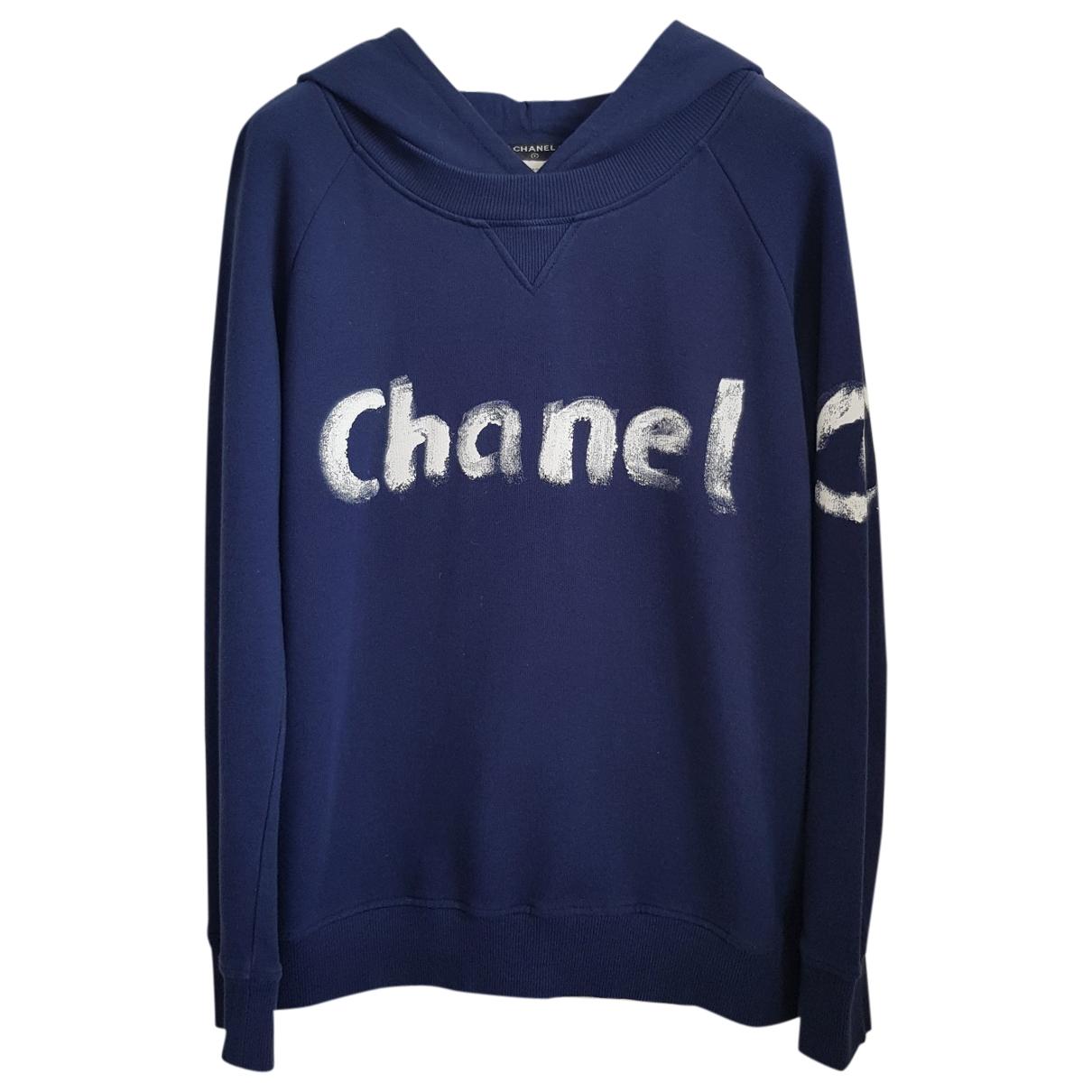 Chanel \N Blue Cotton Knitwear for Women M International
