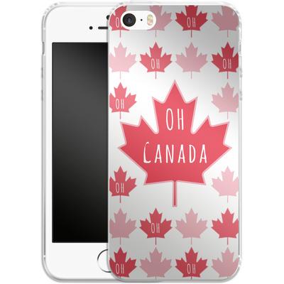 Apple iPhone 5 Silikon Handyhuelle - Oh Canada von caseable Designs