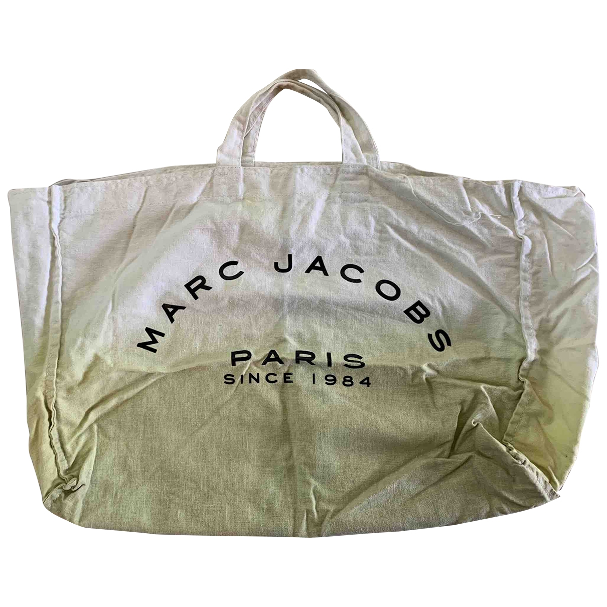 Marc By Marc Jacobs \N Handtasche in  Gruen Baumwolle