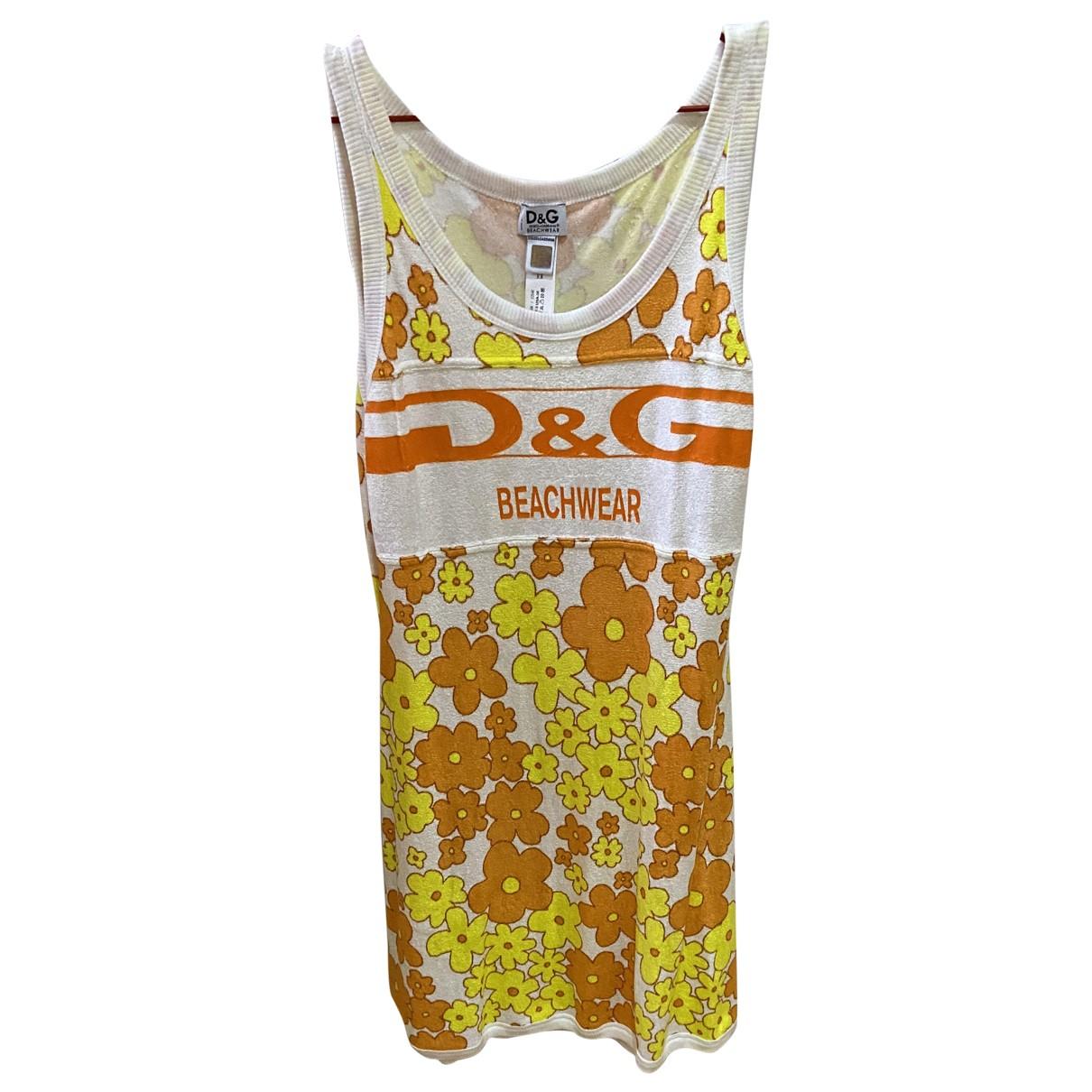 D&g - Robe   pour femme en velours - multicolore