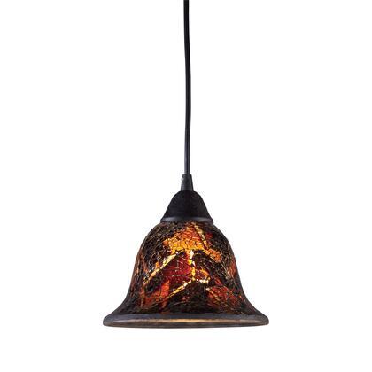10144/1FS Firestorm 1-Light Pendant in Dark