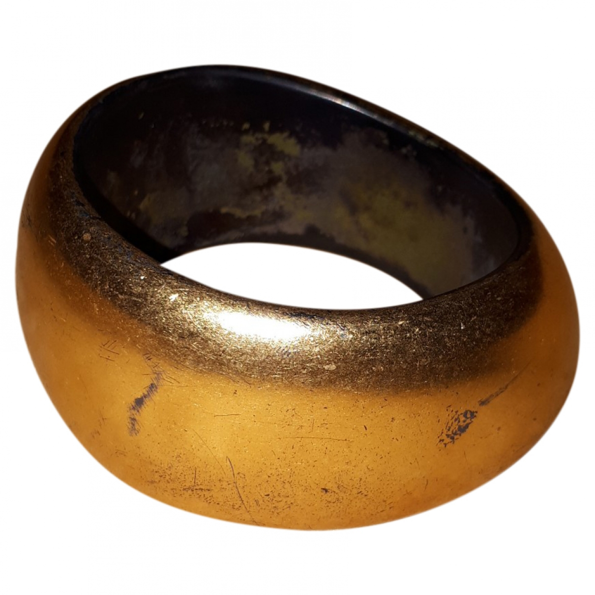 Salvatore Ferragamo \N Armband in  Gold Holz