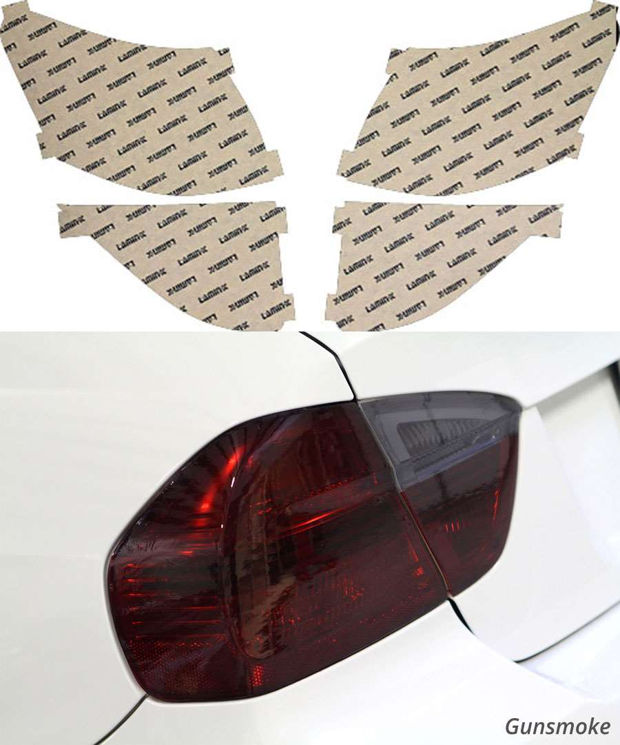 Toyota Rav4 09-12 Gunsmoke Tail Light Covers Lamin-X T222G