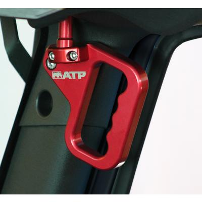 American Trail Products Billet Front Grab Handles (Red) - 36070013R