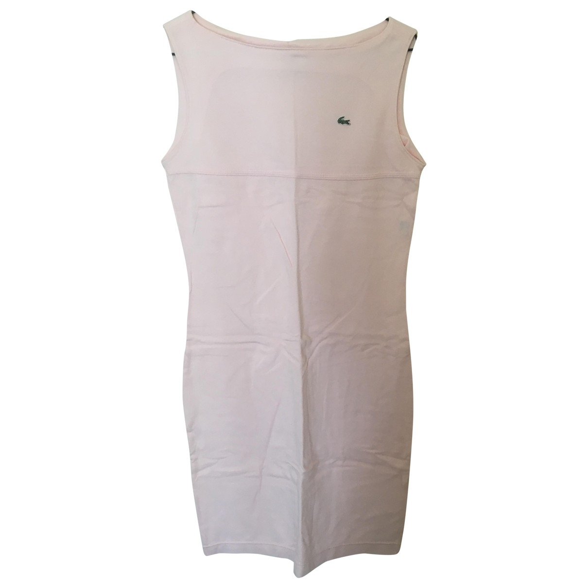 Lacoste \N Pink Cotton dress for Women 38 FR