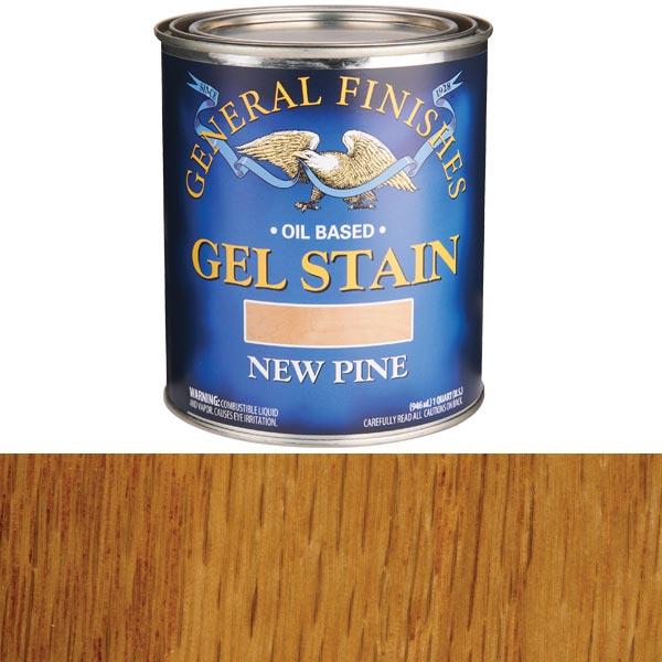 New Pine Gel Stain Solvent Based Quart