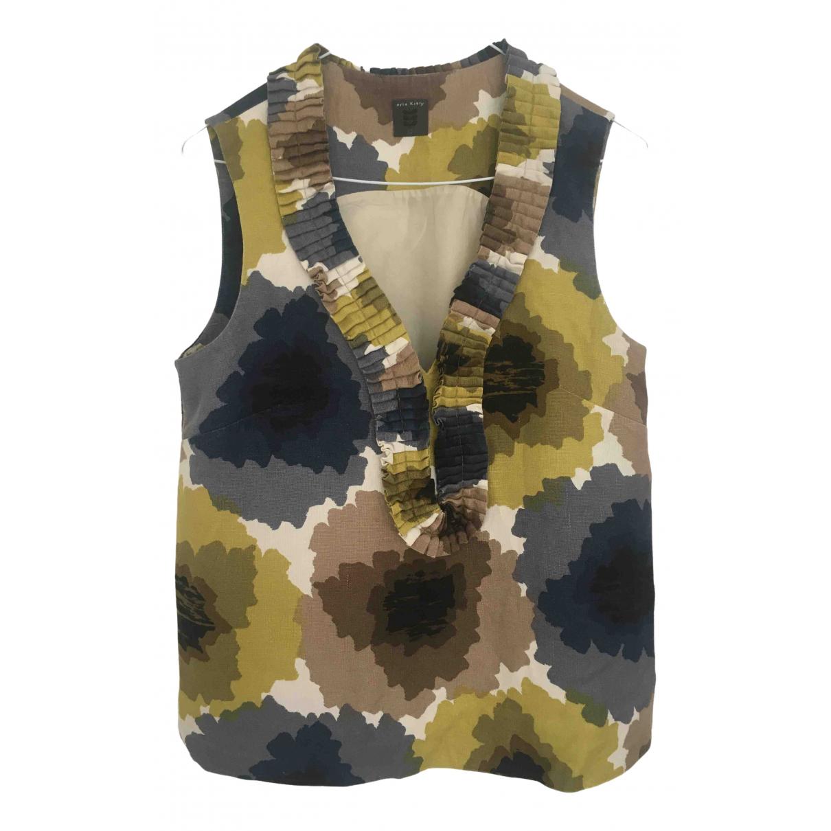 Orla Kiely \N Blue Linen  top for Women 12 UK