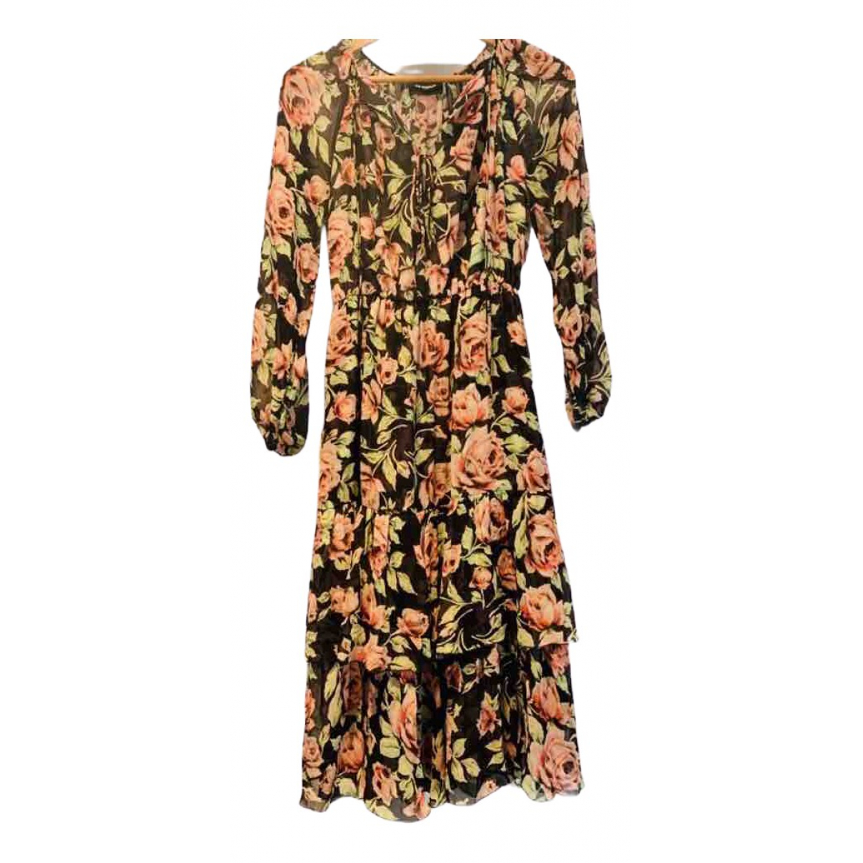 Maxi vestido de Seda The Kooples