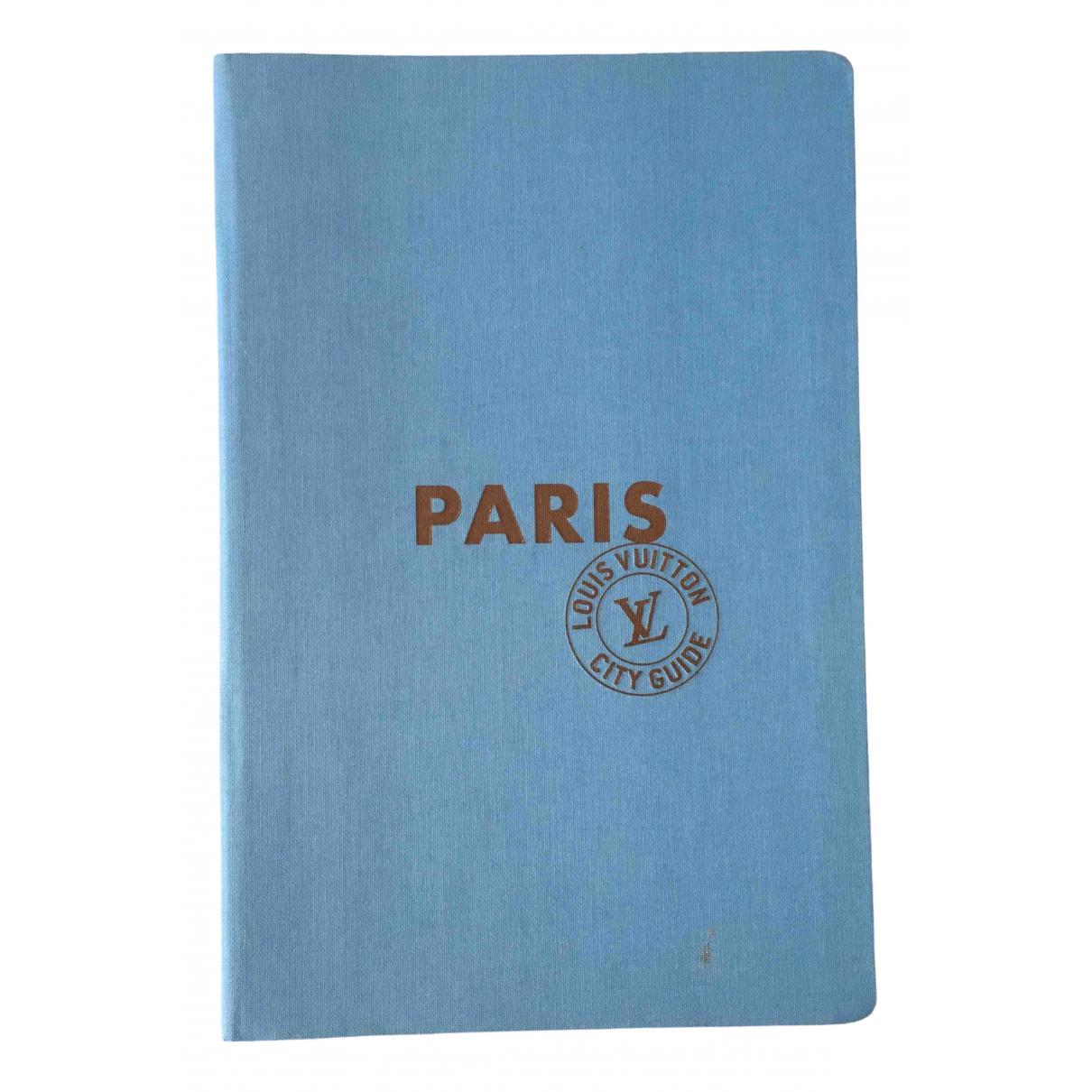 Louis Vuitton - Voyages City Guide pour lifestyle en coton - bleu