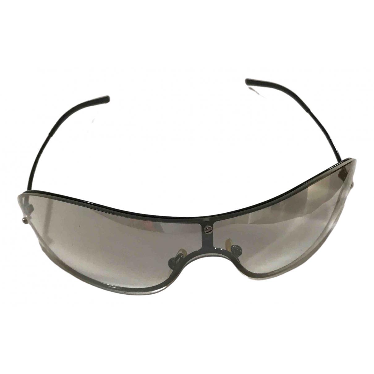 Gucci \N Ecru Metal Sunglasses for Women \N