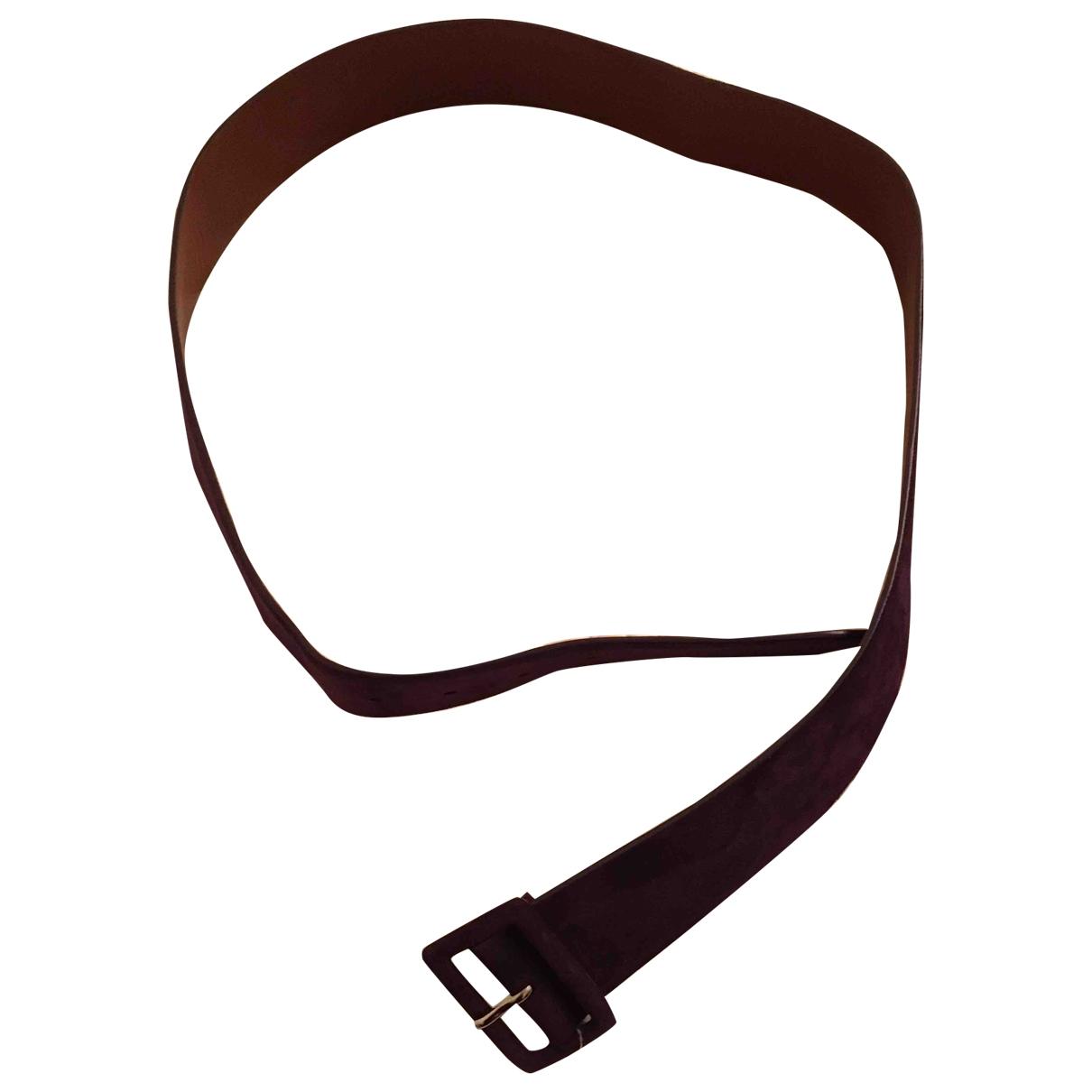 Ralph Lauren \N Purple Suede belt for Women L International