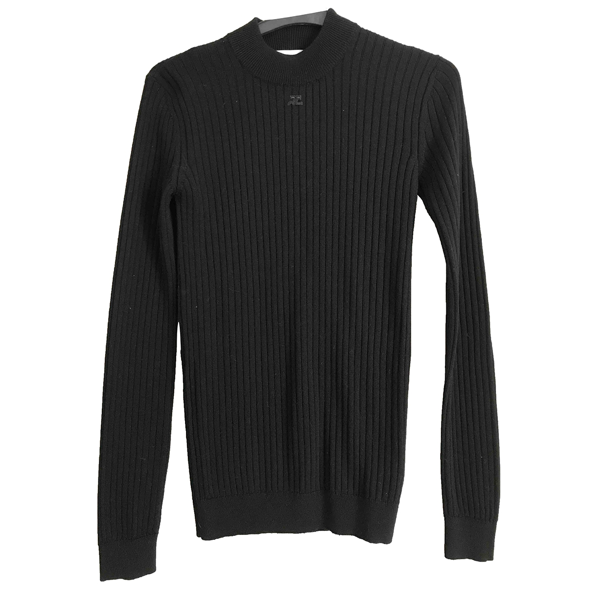 Courrèges \N Black Wool Knitwear for Women 2 US