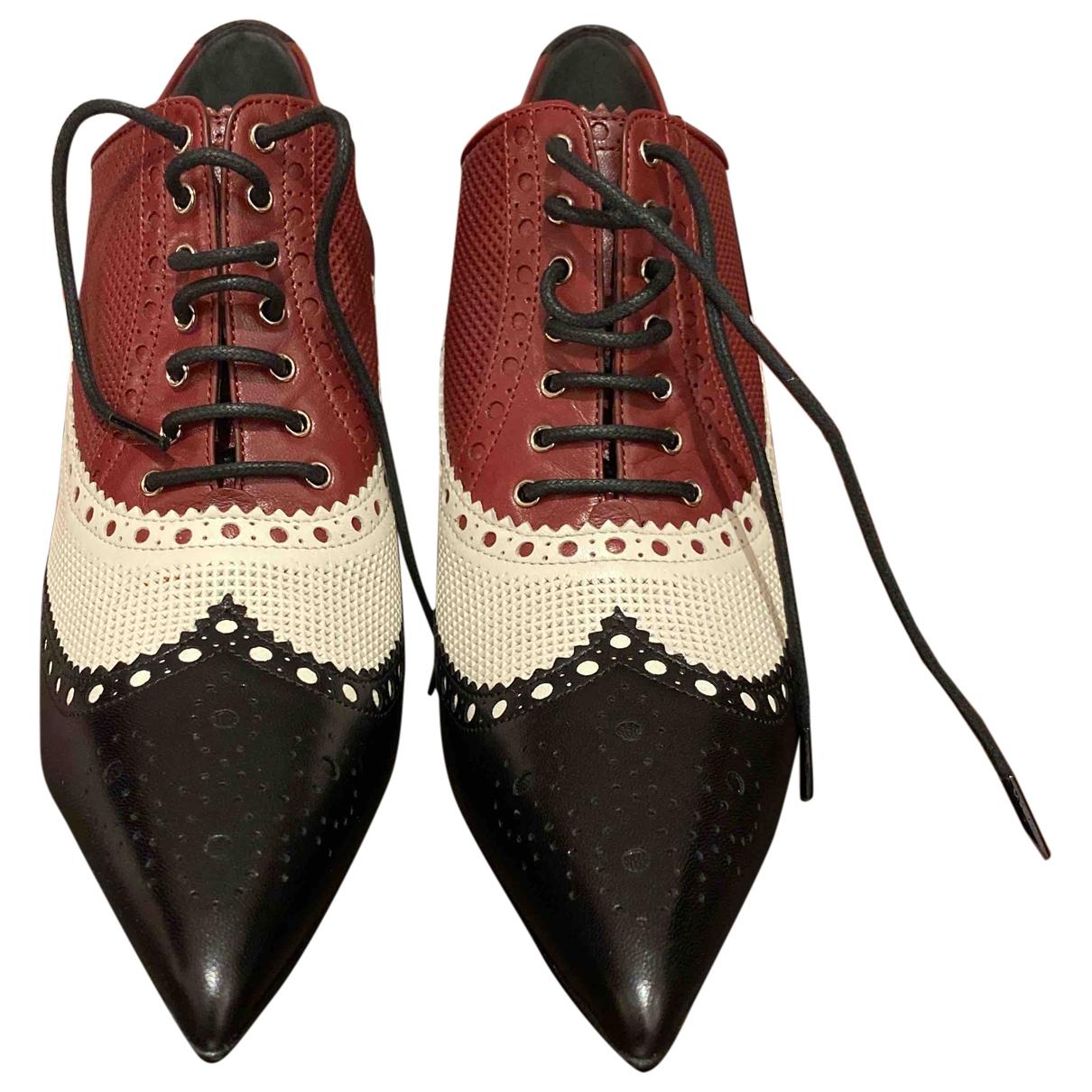 Gucci - Escarpins   pour femme en cuir - multicolore