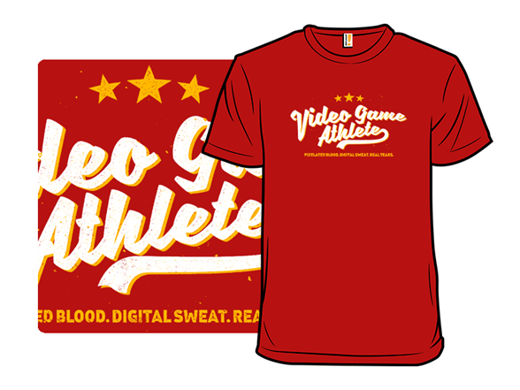 Video Game Athlete T Shirt