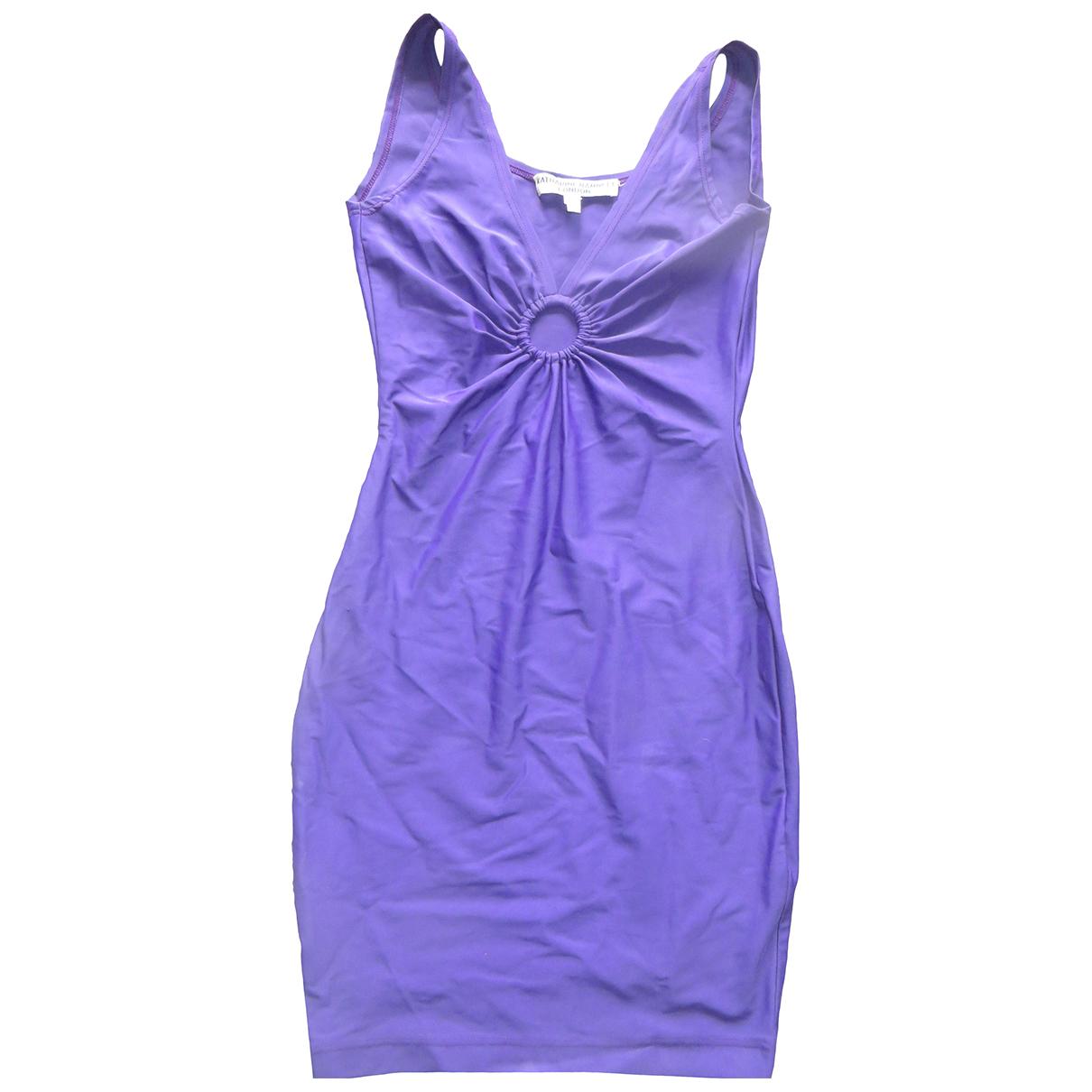 Katharine Hamnett \N Kleid in  Lila Polyester