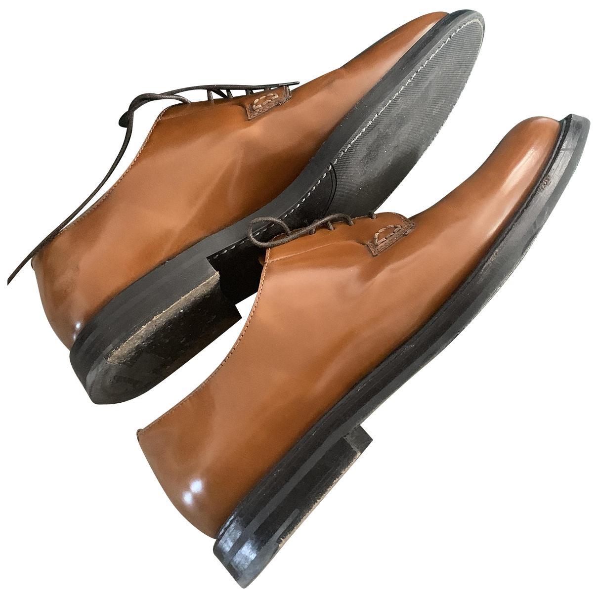 Churchs - Derbies   pour femme en cuir - marron