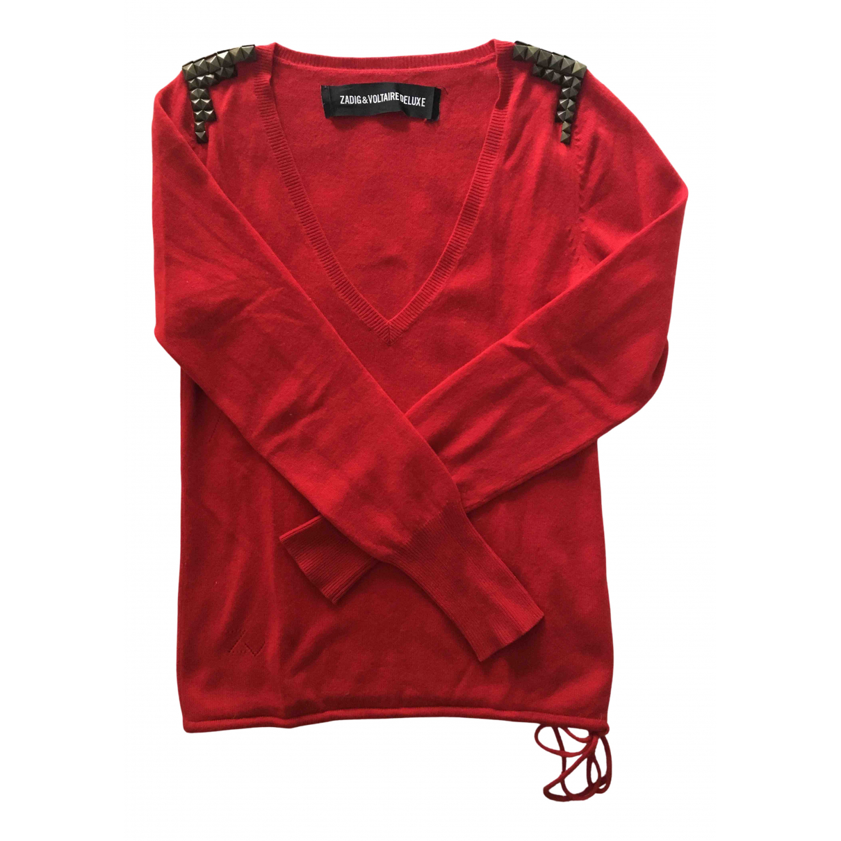 Zadig & Voltaire N Red Cashmere Knitwear for Women S International