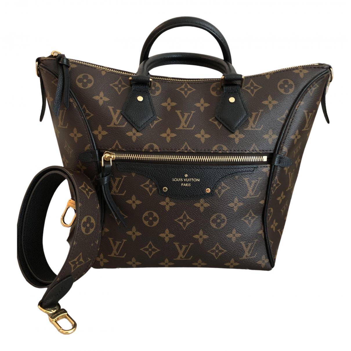 Louis Vuitton Tournelle Brown Cloth handbag for Women N