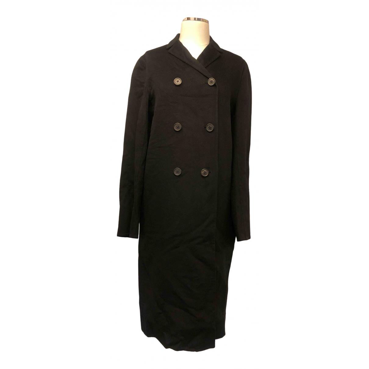 Jil Sander - Manteau   pour femme en cachemire - noir