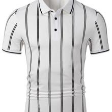 Polo Shirt mit Streifen