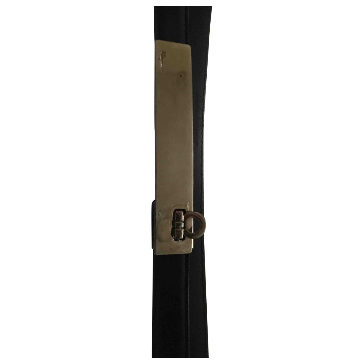 Cinturon de Cuero Salvatore Ferragamo