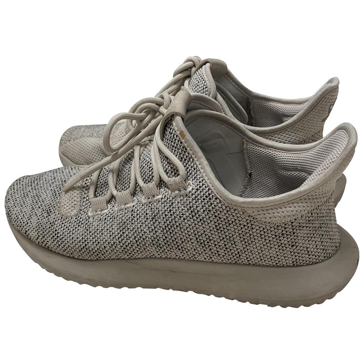 Adidas - Baskets Tubular pour homme en toile - gris