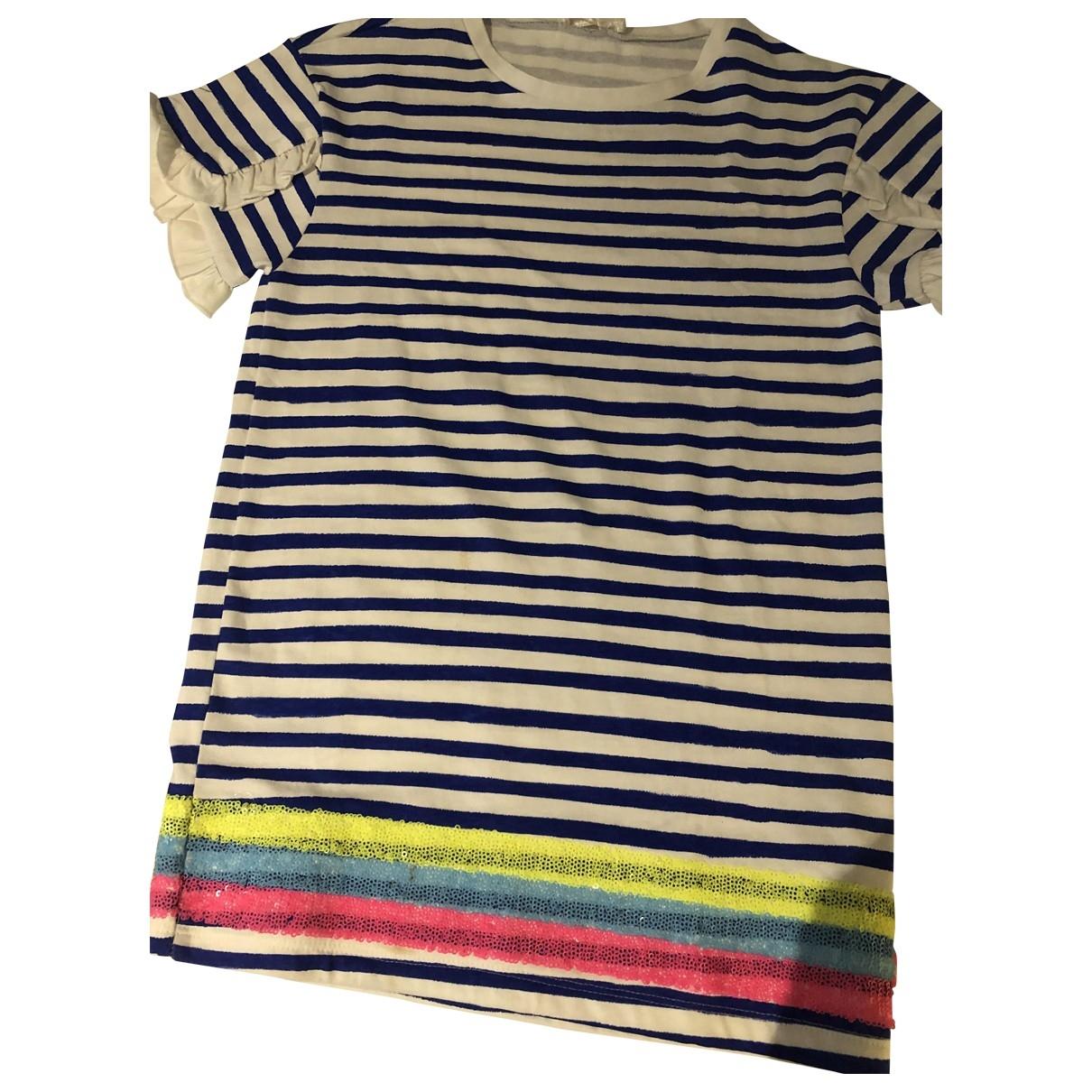 Billieblush - Robe    pour enfant en coton - bleu