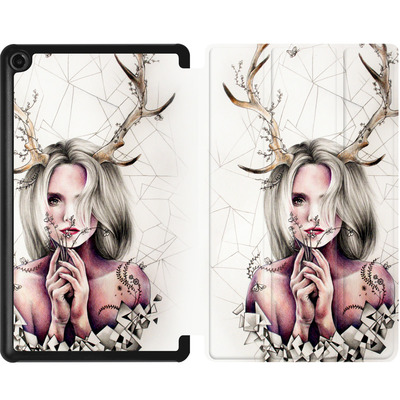 Amazon Fire 7 (2017) Tablet Smart Case - The Antlers von Kate Powell