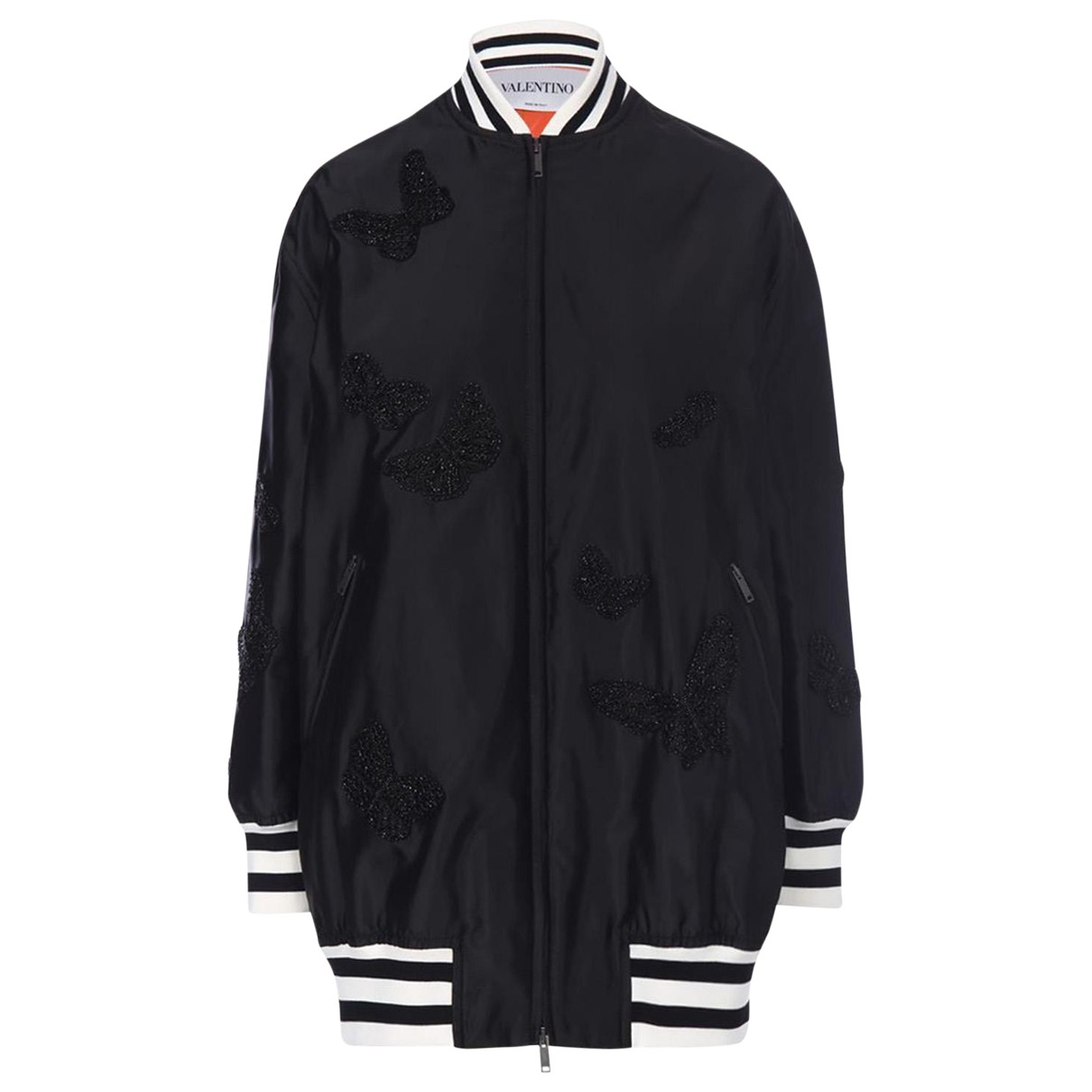 Valentino Garavani N Black Silk jacket for Women 0 US