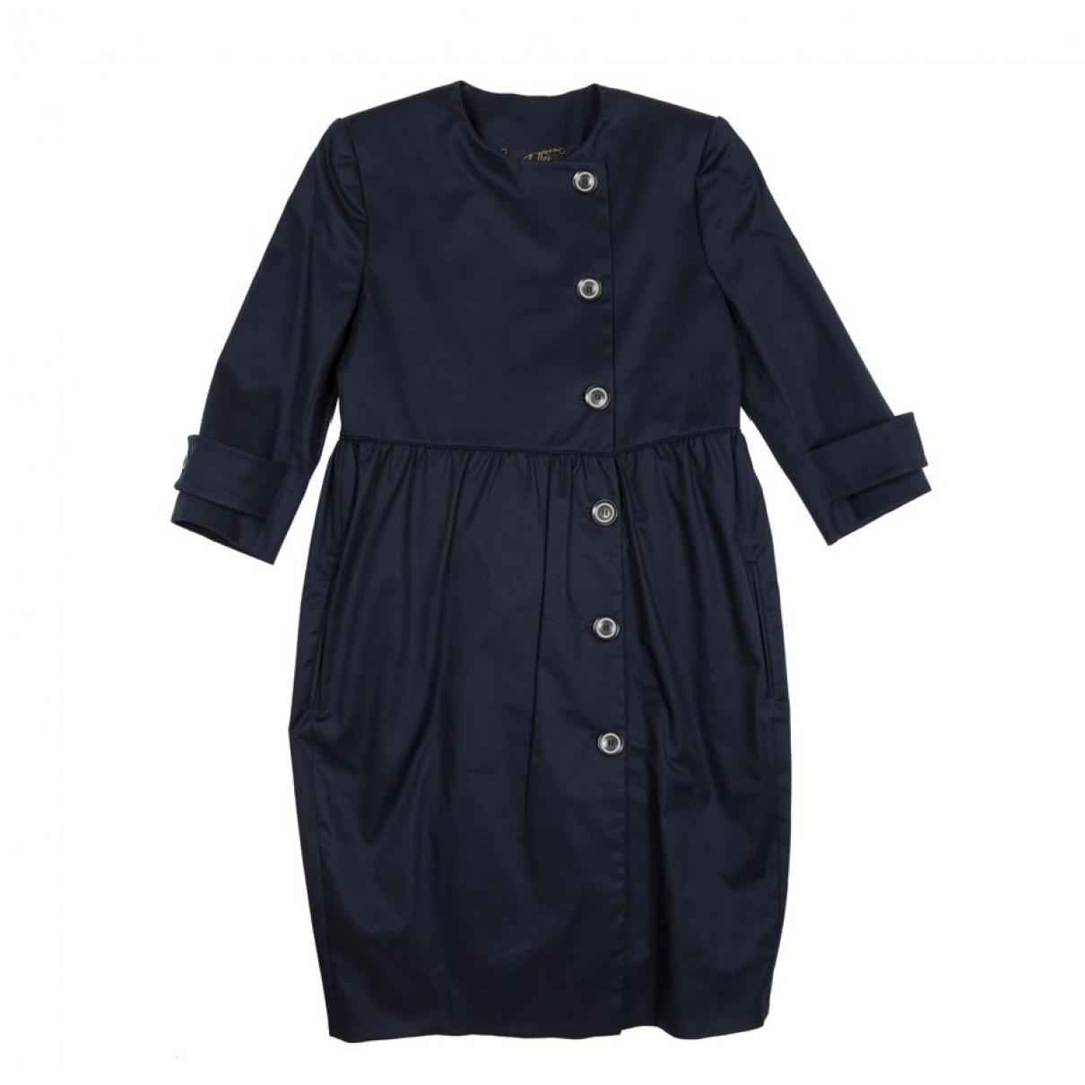 Stella Mccartney - Robe   pour femme en coton - bleu