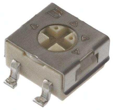 Bourns 50kΩ, SMD Trimmer Potentiometer 0.25W Top Adjust , 3314 (10)
