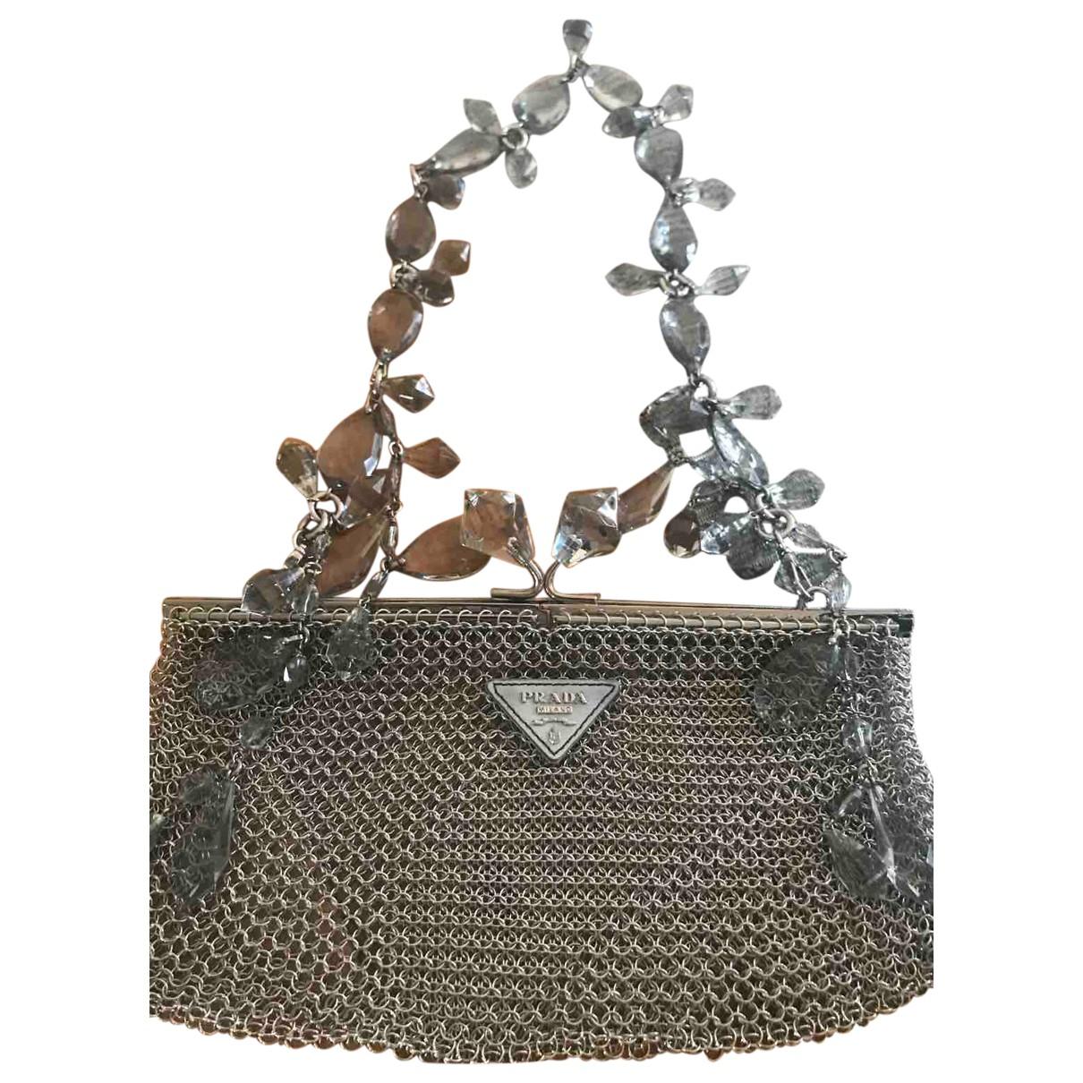 Prada \N Silver Metal handbag for Women M ½ UK