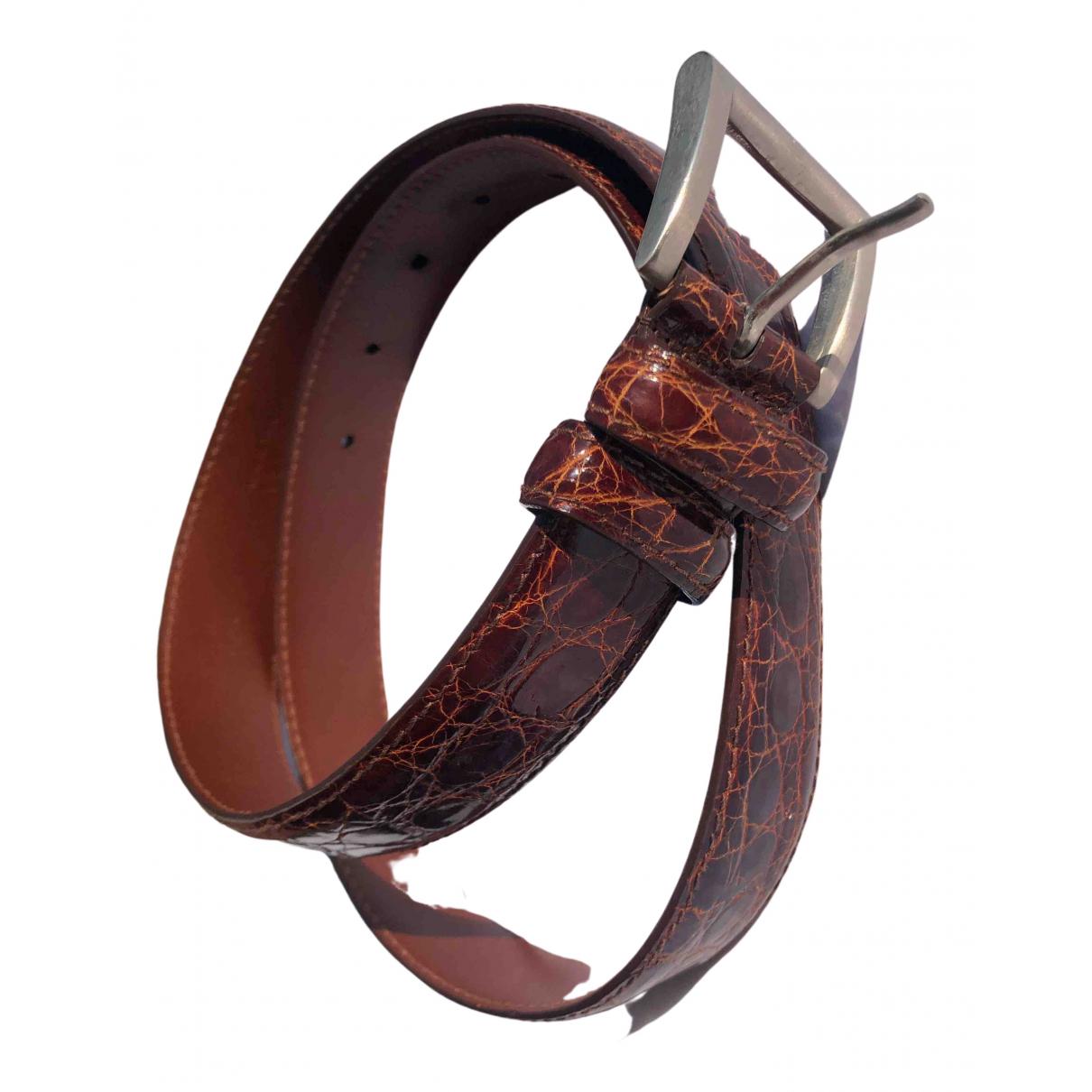Cinturon de Cocodrilo Prada