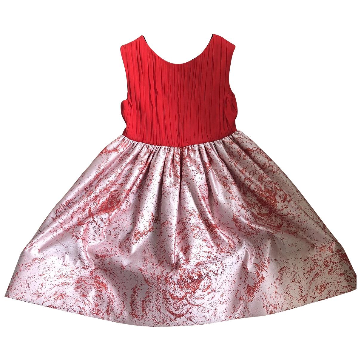 Alice & Olivia \N Kleid in  Rot Seide