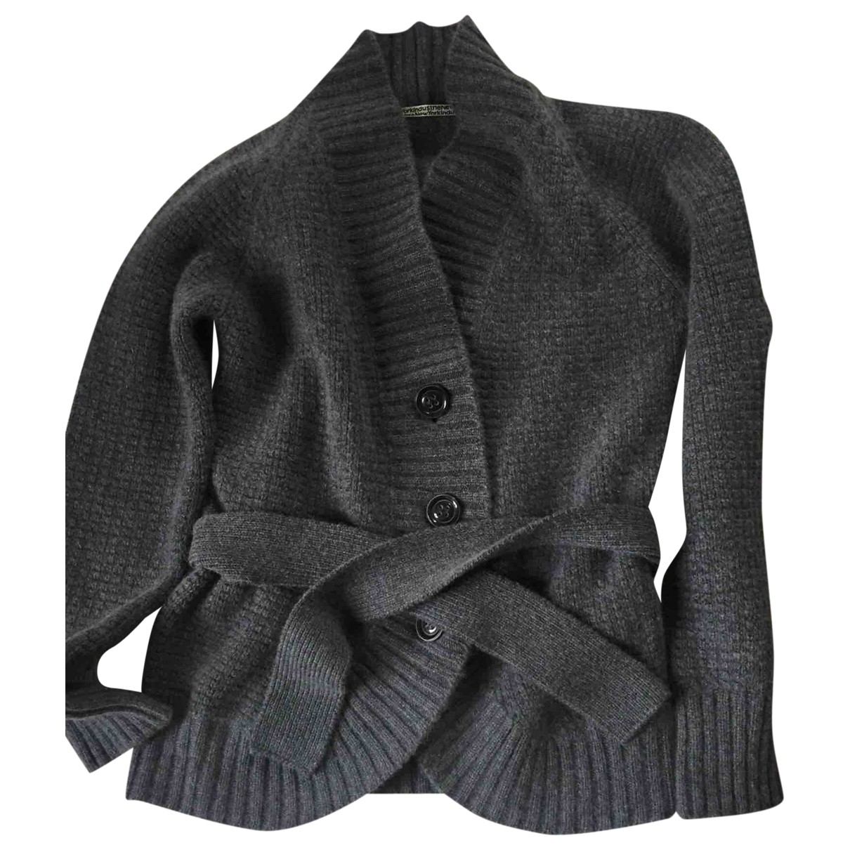 Non Signé / Unsigned \N Grey Cashmere Knitwear for Women 42 IT