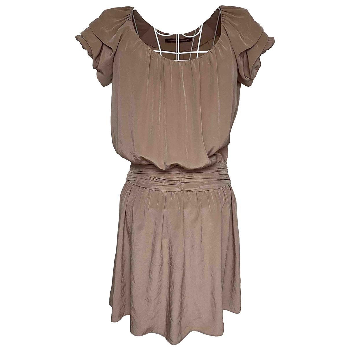 Vestido midi de Seda Comptoir Des Cotonniers