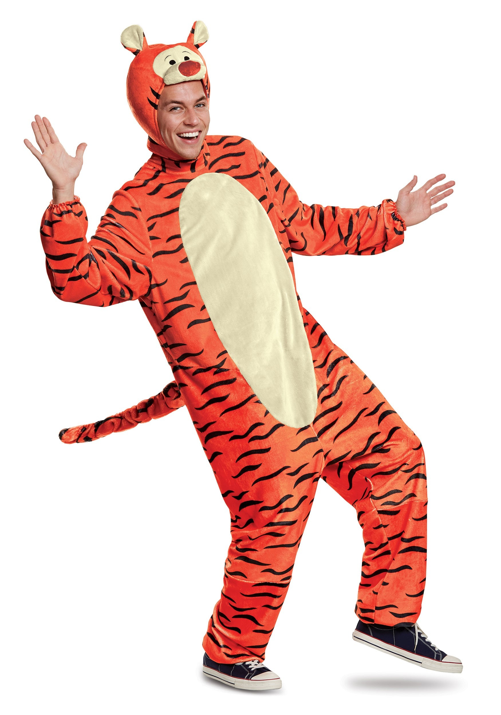 Deluxe Tigger Costume for Adults