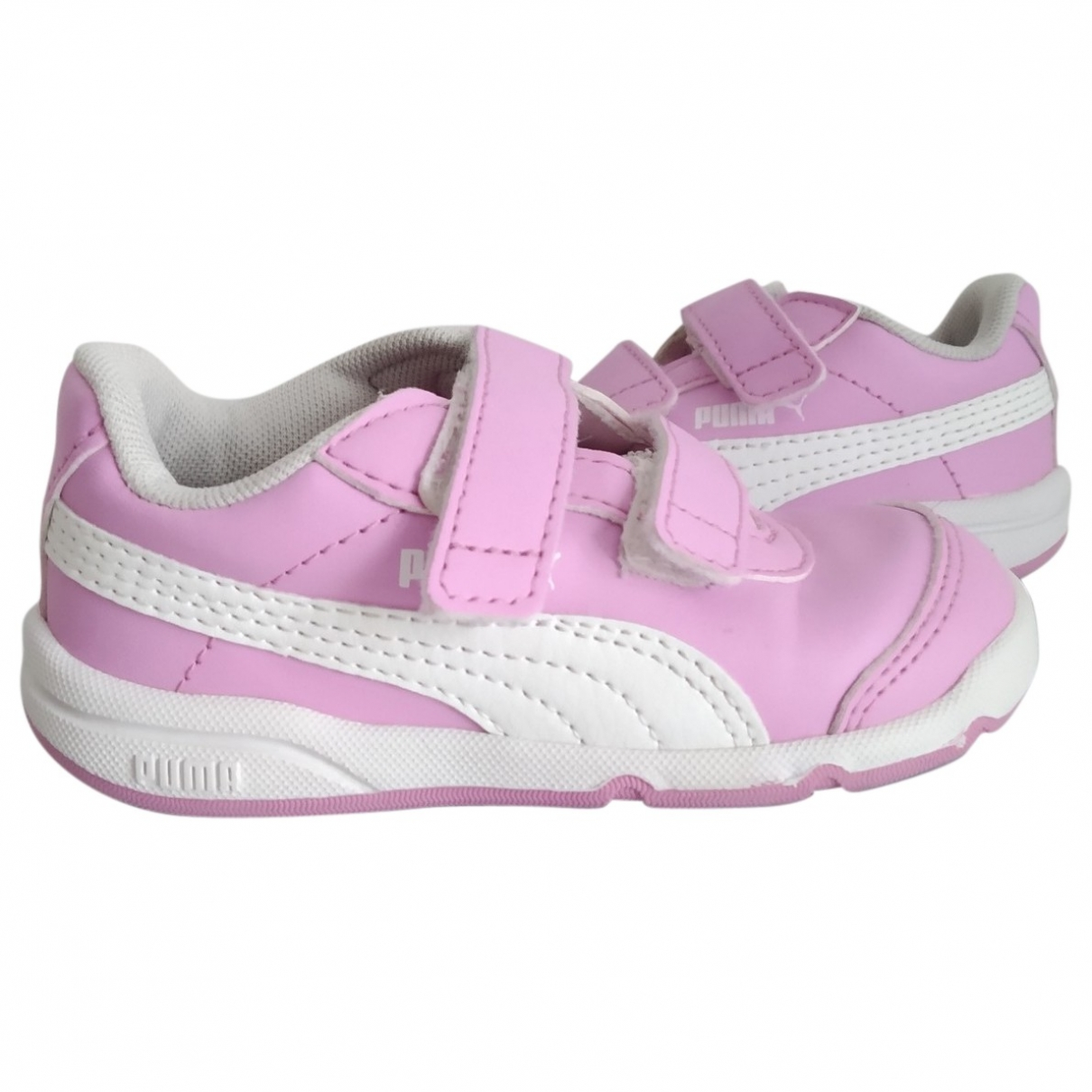 Puma - Baskets   pour enfant en cuir - violet