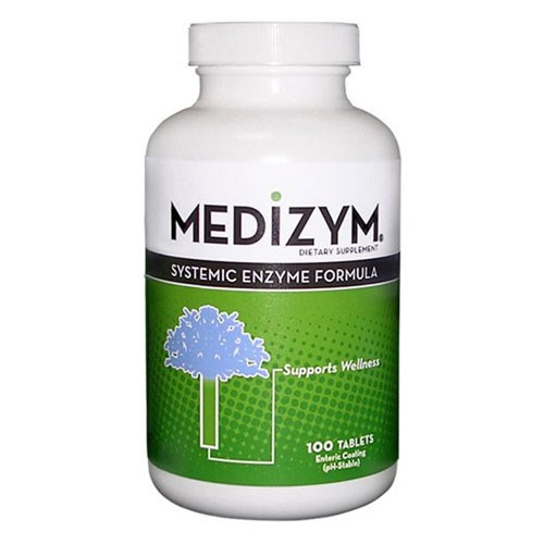 Medizym Systemic Enzyme Formula 100 Tabs by Naturally Vitamins