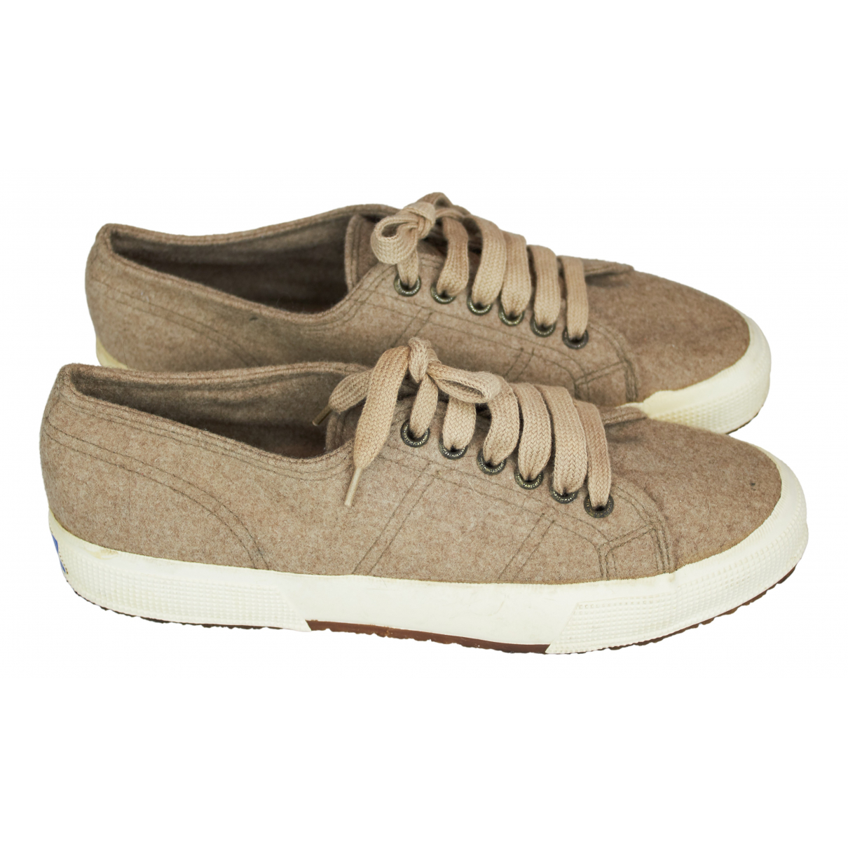 Superga \N Beige Cloth Trainers for Women 40 EU